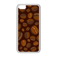 Coffee Beans Apple iPhone 5C Seamless Case (White)