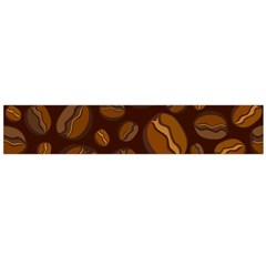 Coffee Beans Flano Scarf (Large)