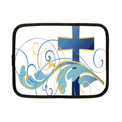 Easter Clip Art Free Religious Netbook Case (Small)