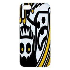 Easter Monster Sinister Happy Magic Rock Mask Face Polka Yellow Iphone 5s/ Se Premium Hardshell Case