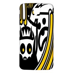 Easter Monster Sinister Happy Magic Rock Mask Face Polka Yellow Samsung Galaxy S5 Back Case (white)