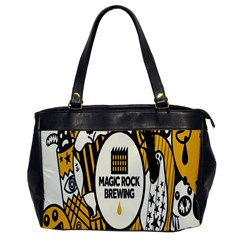 Easter Monster Sinister Happy Magic Rock Mask Face Yellow Magic Rock Office Handbags