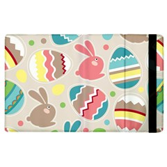 Easter Rabbit Bunny Rainbow Apple iPad 2 Flip Case