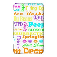 Easter Subway Blossoms Color Rainbow Chocolate Samsung Galaxy Tab S (8.4 ) Hardshell Case