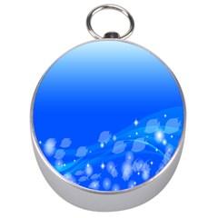 Fish Swim Blue Water Swea Beach Star Wave Chevron Silver Compasses