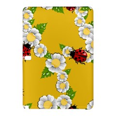 Flower Floral Sunflower Butterfly Red Yellow White Green Leaf Samsung Galaxy Tab Pro 10 1 Hardshell Case