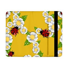 Flower Floral Sunflower Butterfly Red Yellow White Green Leaf Samsung Galaxy Tab Pro 8 4  Flip Case