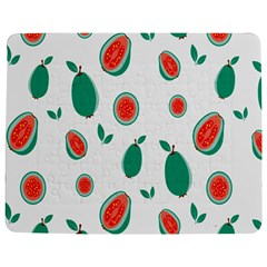Fruit Green Red Guavas Leaf Jigsaw Puzzle Photo Stand (rectangular)