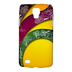 Flower Floral Leaf Star Sunflower Green Red Yellow Brown Sexxy Galaxy S4 Active
