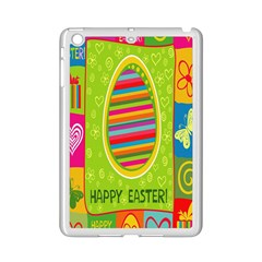 Happy Easter Butterfly Love Flower Floral Color Rainbow Ipad Mini 2 Enamel Coated Cases