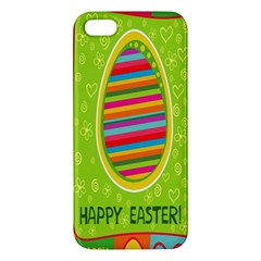 Happy Easter Butterfly Love Flower Floral Color Rainbow Iphone 5s/ Se Premium Hardshell Case