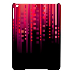 Line Vertical Plaid Light Black Red Purple Pink Sexy Ipad Air Hardshell Cases