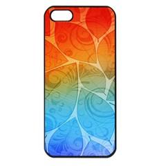 Leaf Color Sam Rainbow Apple Iphone 5 Seamless Case (black)