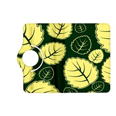 Leaf Green Yellow Kindle Fire Hd (2013) Flip 360 Case