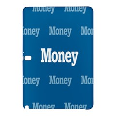 Money White Blue Color Samsung Galaxy Tab Pro 12 2 Hardshell Case