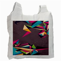 Origami Bird Japans Papper Recycle Bag (one Side)