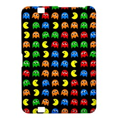 Pacman Seamless Generated Monster Eat Hungry Eye Mask Face Rainbow Color Kindle Fire HD 8.9