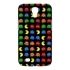 Pacman Seamless Generated Monster Eat Hungry Eye Mask Face Rainbow Color Samsung Galaxy Mega 6.3  I9200 Hardshell Case