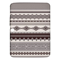 Plaid Circle Polka Dot Star Flower Floral Wave Chevron Triangle Samsung Galaxy Tab 3 (10 1 ) P5200 Hardshell Case