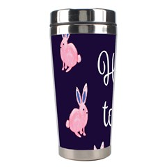Rabbit Bunny Pink Purple Easter Animals Stainless Steel Travel Tumblers