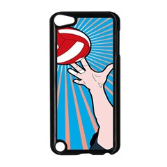 Volly Ball Sport Game Player Apple iPod Touch 5 Case (Black)