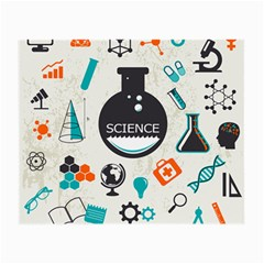 Science Chemistry Physics Small Glasses Cloth (2 Side)