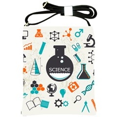 Science Chemistry Physics Shoulder Sling Bags