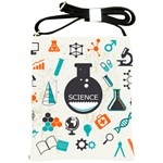 Science Chemistry Physics Shoulder Sling Bags Front