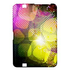 Plaid Star Light Color Rainbow Yellow Purple Pink Gold Blue Kindle Fire Hd 8 9