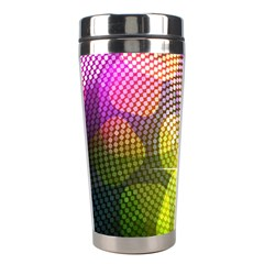 Plaid Star Light Color Rainbow Yellow Purple Pink Gold Blue Stainless Steel Travel Tumblers