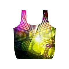 Plaid Star Light Color Rainbow Yellow Purple Pink Gold Blue Full Print Recycle Bags (s)