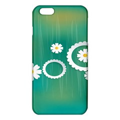 Sunflower Sakura Flower Floral Circle Green Iphone 6 Plus/6s Plus Tpu Case