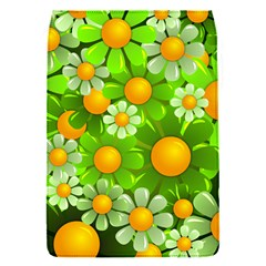 Sunflower Flower Floral Green Yellow Flap Covers (S)