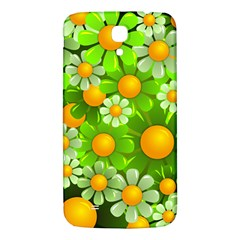 Sunflower Flower Floral Green Yellow Samsung Galaxy Mega I9200 Hardshell Back Case