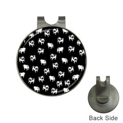 Pug dog pattern Hat Clips with Golf Markers