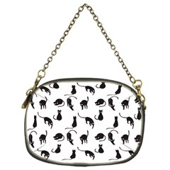 Black cats pattern Chain Purses (Two Sides)