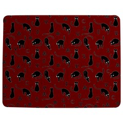 Black cats and witch symbols pattern Jigsaw Puzzle Photo Stand (Rectangular)