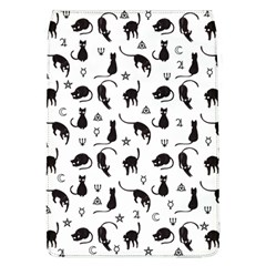Black cats and witch symbols pattern Flap Covers (L)