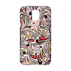 Colorful Abstract Floral Background Samsung Galaxy S5 Hardshell Case