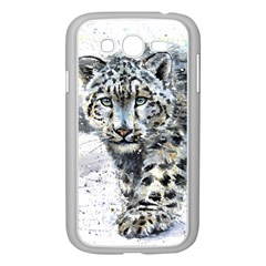 Snow Leopard  Samsung Galaxy Grand DUOS I9082 Case (White)