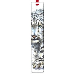 Snow Leopard  Large Book Marks