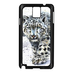 Snow Leopard  Samsung Galaxy Note 3 N9005 Case (Black)