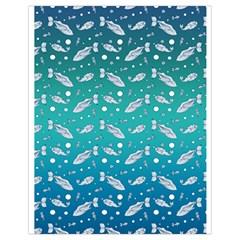 Under The Sea Paisley Drawstring Bag (Small)
