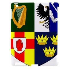 Arms of Four Provinces of Ireland  Apple iPad 3/4 Hardshell Case (Compatible with Smart Cover)