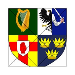 Arms Of Four Provinces Of Ireland  Acrylic Tangram Puzzle (6  X 6 )