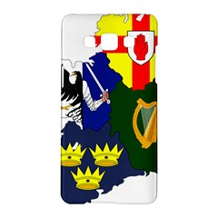 Flag Map of Provinces of Ireland  Samsung Galaxy A5 Hardshell Case