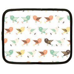 Assorted Birds Pattern Netbook Case (xxl)