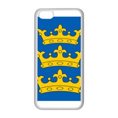 Banner of Lordship of Ireland (1177-1542) Apple iPhone 5C Seamless Case (White)