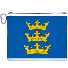 Banner of Lordship of Ireland (1177-1542) Canvas Cosmetic Bag (XXXL)