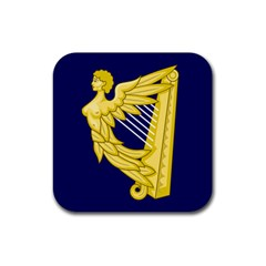 Royal Standard Of Ireland (1542 1801) Rubber Square Coaster (4 Pack)